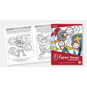 Fighter Verses coloring book
