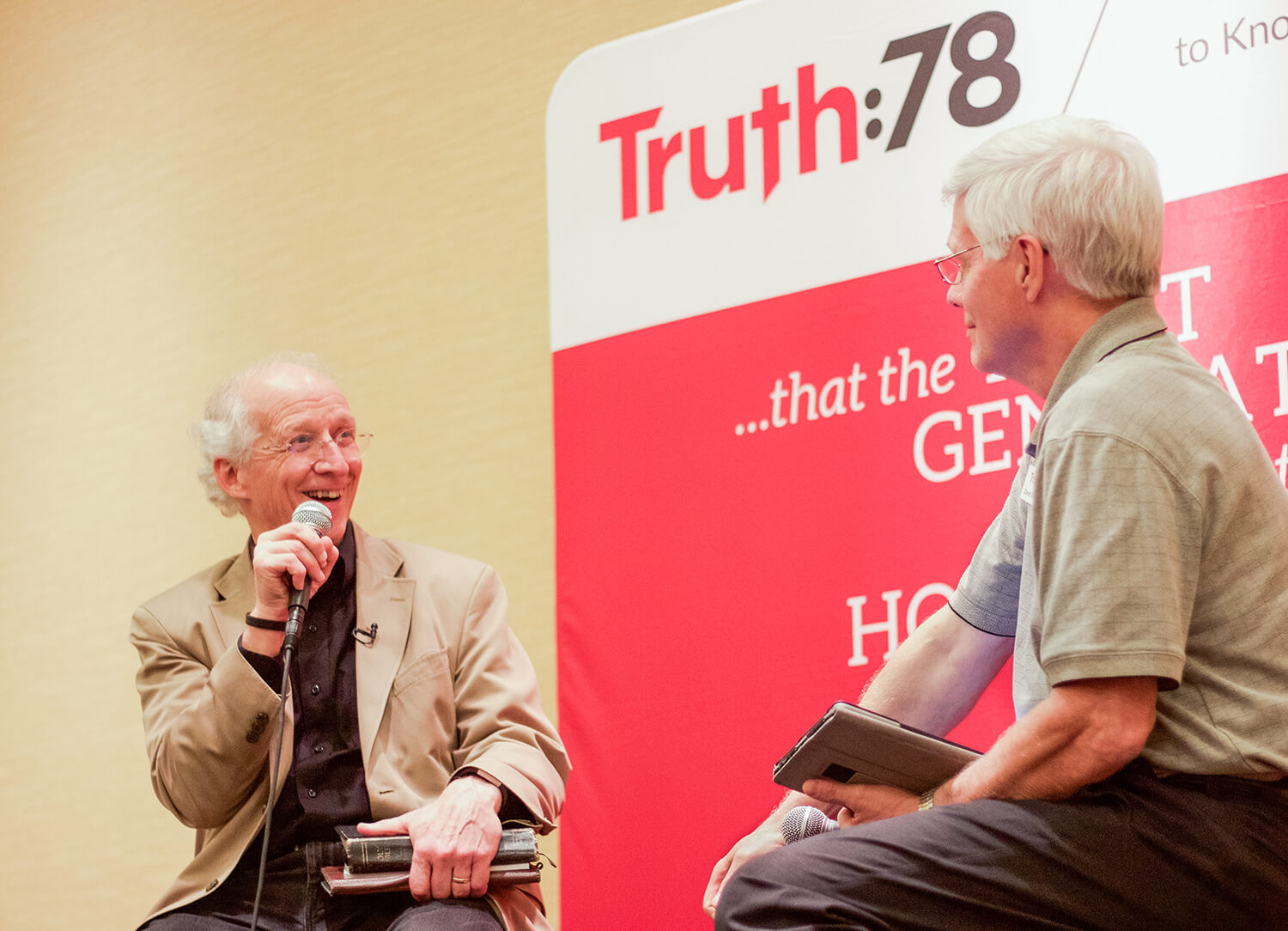 Truth78: David Michael and John Piper Host Event
